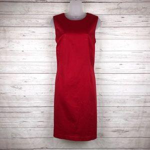 Grace Elements Red Shift Dress Size 12